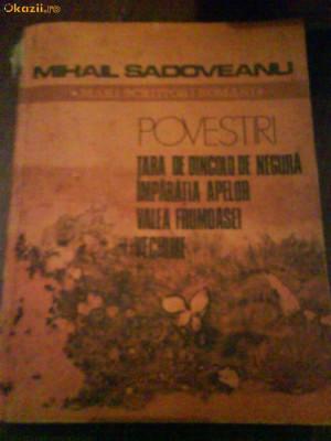 2438 M.Sadoveanu Povestiri foto