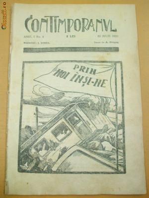 CONTIMPORANUL AN I NR. 8 22 07 1922 foto