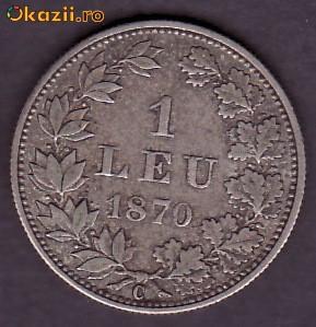 1 leu 1870! foto