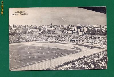 219.ILUSTRATA BUCURESTI - STADIONUL REPUBLICII. foto