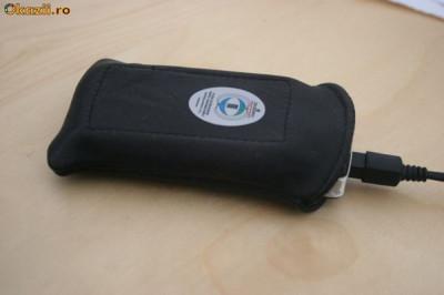 Husa antiradiatie pentru telefonul mobil foto