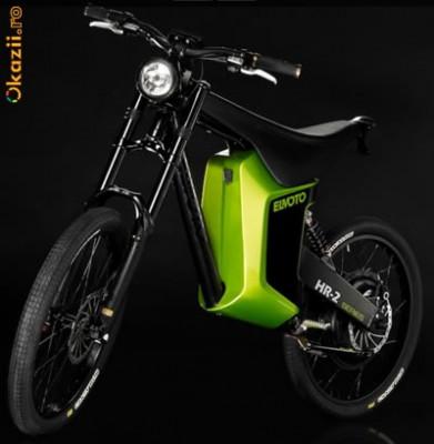 Bicicleta electrica El Moto unicat in romania(prototip) foto