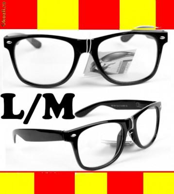 Ochelari Wayfarer Clear Lens Ray Ban GEEK transparenti M L foto d70937e4488