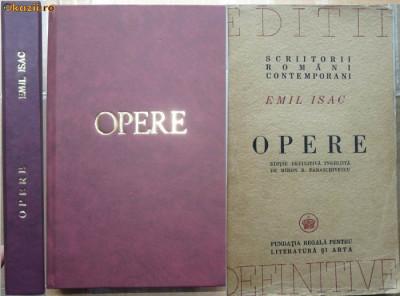 Emil Isac , Opere , editie definitiva , 1946 foto