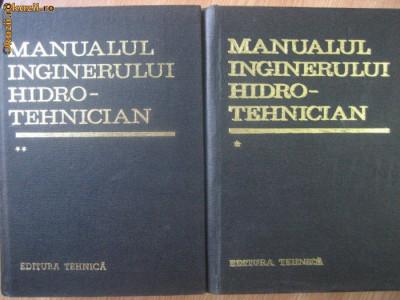 R1. Manualul inginerului hidrotehnician - 2 volume foto
