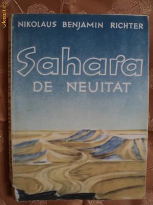 SAHARA DE NEUITAT-NIKOLAUS BENJAMIN RICHTER foto