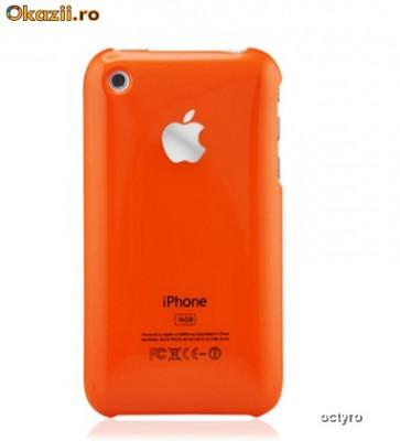 8cecd6cc9e3 CARCASA iPHONE 2G 3G 3GS - ORANGE - EDITIE LIMITATA 32 GB | Okazii.ro