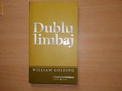 Dublu Limbaj  William Golding foto