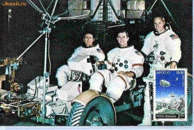 Ilustrata Maxima  Cosmonautica - Lunamobil foto