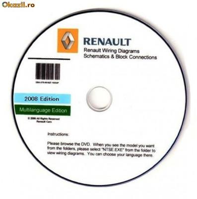 renault visu wiring diagrams arhiva okazii ro rh okazii ro Uconnect Wiring-Diagram Uconnect 8.4 Wiring-Diagram