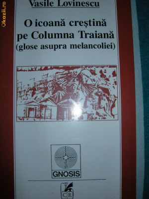 O icoana crestina pe Columna Traiana  -  Vasile Lovinescu foto