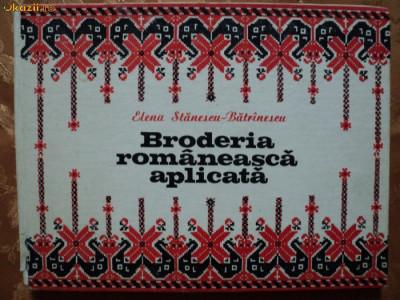BRODERIA ROMANEASCA APLICATA - ELENA STANESCU BATRINESCU foto