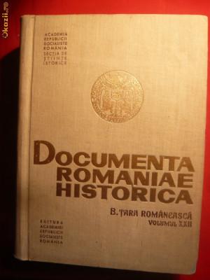 Documenta Romaniae Historica - Tara Romaneasca 1628-1629 foto