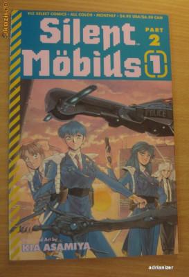 Silent Mobius (manga) foto