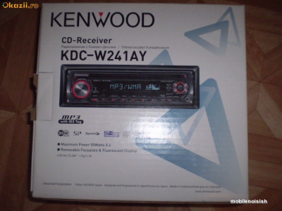 MP3 Player auto Kenwood KDC-W241AY- 220 lei foto
