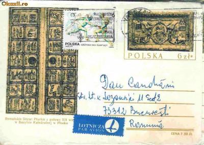 Intreg postal Polonia - Catedrala din Plocku, sec. XII foto