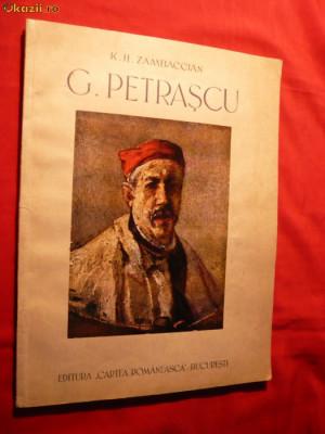 Album -G.PETRASCU - text de K.H.Zambaccian 1945 , reproduceri alb-negru si color foto