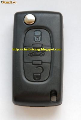carcasa cheie Peugeot 407 foto