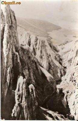 CP203-99 Muntii Apuseni. Cheile Turzii -carte postala, circulata 1970 -starea care se vede foto