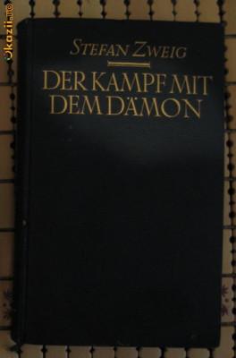 S Zweig Der Kampf mit dem Daemon Holderlin Kleist Nietzsche Insel Verlag 1925 foto