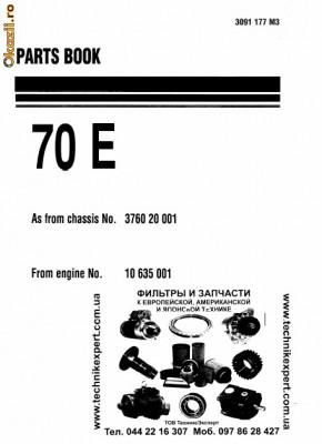 hanomag parts book series 70e 35d arhiva okazii ro rh okazii ro Hanomag SdKfz 251 1 German Hanomag