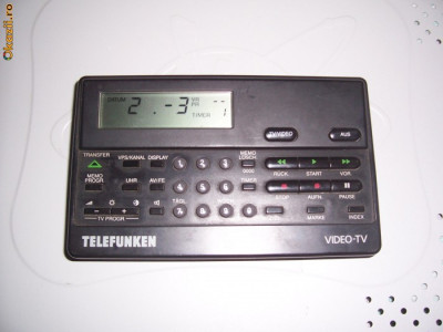 TELEFUNKEN  FB 1300 IN , TV-VIDEO , TELECOMANDA . foto