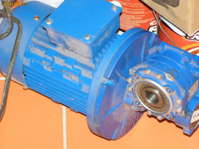 Grup motor reductor 055kw/60rpm foto