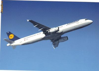 Ilustrata Aviatie, Airbus A321-200 foto