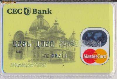 Card bancar CEC BANK 2 foto