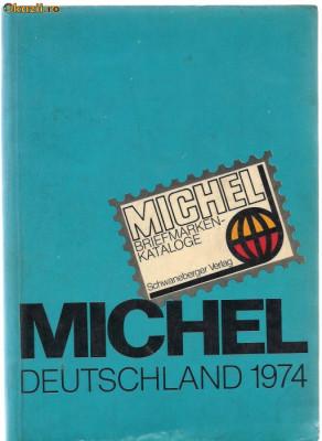 10A (457) catalog  MICHEL-DEDTSCHLAND 1974 foto
