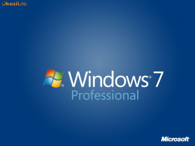 Windows 7 Professional  LICENTA foto