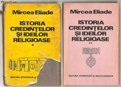 (C599) ISTORIA CREDINTELOR SI IDEILOR RELIGIOASE DE MIRCEA ELIADE, 3 VOLUME foto