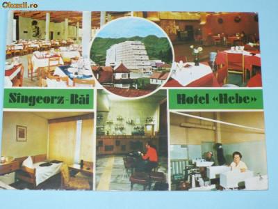 SINGEORZ BAI. HOTEL HEBE foto