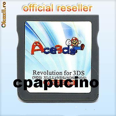 R4i DS - Card Modare Nintendo DS Lite DSi (1.4.3) DSi XL 3DS ultimul firmware 3.0.0-6 (J, E, U,) deblocare n3ds ndsl nds phat slim consola jocuri foto