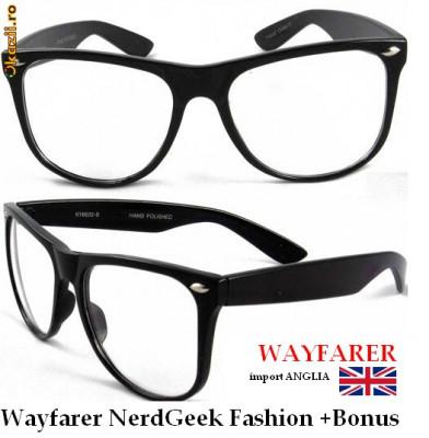 Ochelari WAYFARER NerdGeek ! Fashion inspired by RayBan! Se pot monta  LENTILE DE VEDERE! 5ea0d46765d