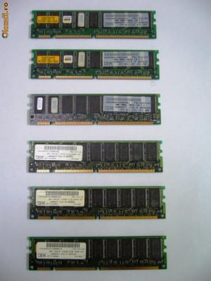 Memorii  IBM  SDRAM 32 Mb. PC.100 foto