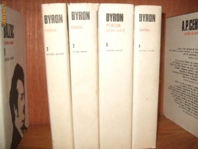 BYRON  vol. 1, 2, 3 ,4 foto