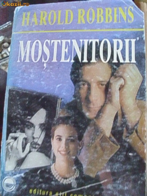 MOSTENITORII -HAROLD ROBBINS foto