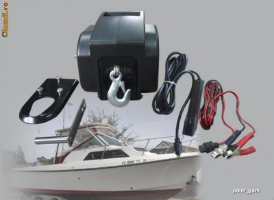 Troliu electric si manual  barca,4x4, off road 3000lbs foto