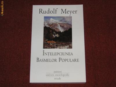 Intelepciunea basmelor populare - Rudolf Meyer foto