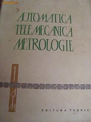 AUTOMATICA TELEMECANICA METROLOGIE -VOL1 foto