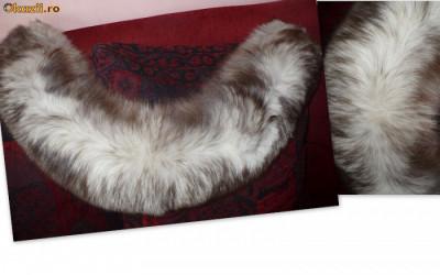 Haina de blana vulpe polara + CADOU! - OKAZIE! foto