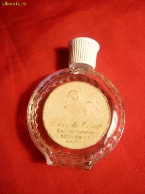 Sticluta din stcla Lalique -pt.  Parfum L'Air du Temps -Nina Ricci foto