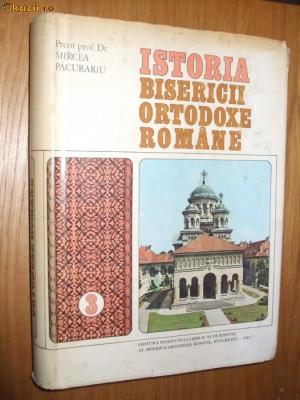 ISTORIA BISERICII ORTODOXE ROMANE  vol. 3  -- Mircea Pacurariu  [ 1961 ] foto