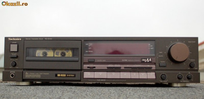 casetofon deck TECHNICS RS-B905 3 head cu DBX foto