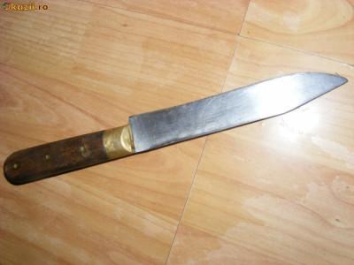 CUTIT VECHI ,Metal ,alama si lemn foto
