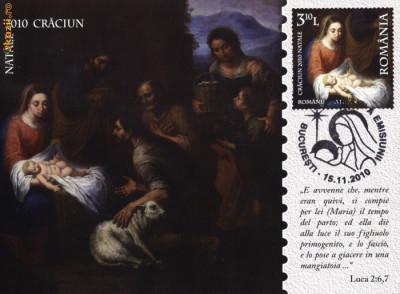 Carte maxima Nasterea Domnului Isus Hristos, copie tablou - Scoala Murillo foto