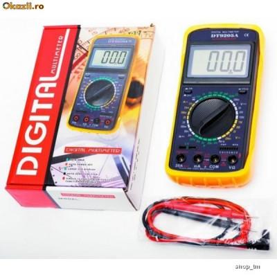 Multimeter aparat de masura DT-9205A foto