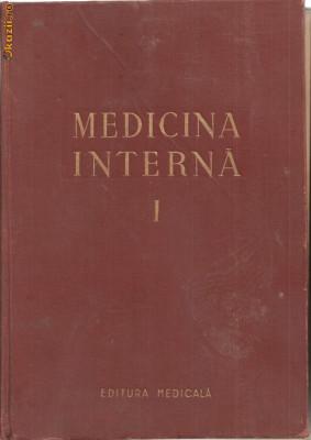 (C1184) MEDICINA INTERNA, SEMIOLOGIE SI TERAPEUTICA GENERALA SUB REDACTIA ACAD. DR. N. GH. LUPU, EDITURA MEDICALA, BUCURESTI, 1956, VOLUMUL I foto