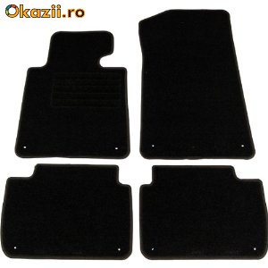 Covorase  SEAT Leon Typ 1M  -  din mocheta neagra foto